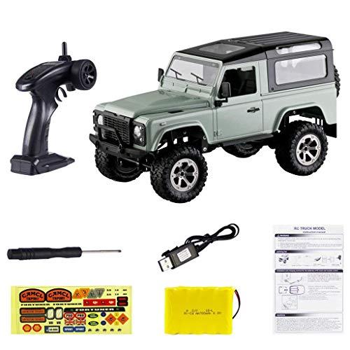 ZCYXQR 1:16 Coche RC 2.4GHz 4WD Camión con Marco de Metal Control Remoto Pickup SUV para Juguete Infantil (Regalo de cumpleaños Festivo)