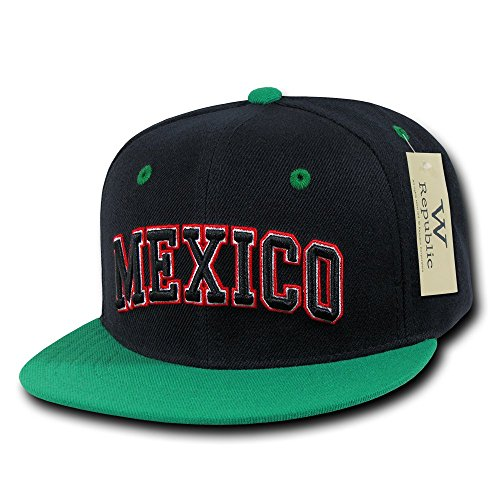Whang The Freshman Mexico Pro Caps - Gorra para Hombre, Color Multicolor, Talla Talla única