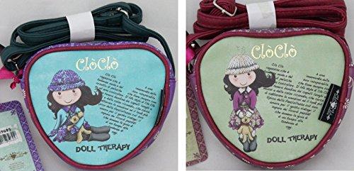 Clo Clo Fantástico bolso bandolera corazón – Muñeca
