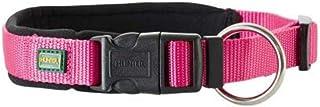 Hunter Vario Plus Neoprene Collar, Medium, Raspberry/Black