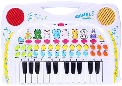 Spiel AG Animal Piano Das lustige Tierklavier mit Tierstimmen Rhythmen UVM