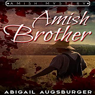 The Amish Brother audiobook cover art