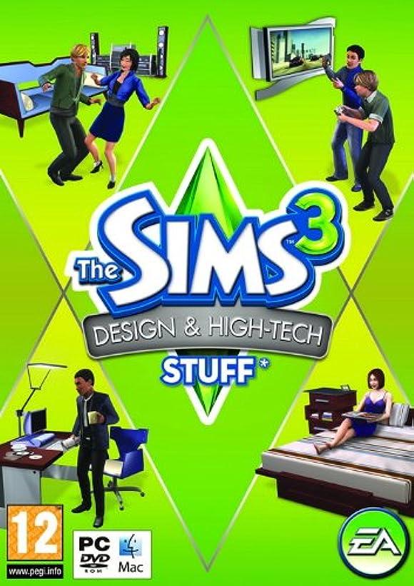 レスリングにもかかわらず暗殺The Sims 3: Design and Hi-Tech Stuff (PC) (輸入版)