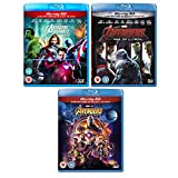 Avengers Complete Collection - (Assemble - Age Of Ultron - Infinity War) - Marvel Complete Avengers (3D + 2D) - 3 Movie Bundling Blu-ray