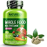 NATURELO Whole Food Multivitamin for Women - Natural Vitamins, Minerals, Raw Organic Extracts - Best Supplement for...