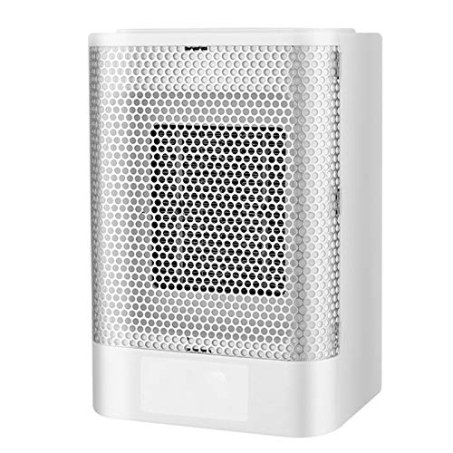 Calefactor Ceramico Bajo Consumo 800W Diseño Portátil Caliente Y Frio Proposito Doble Temperatura Constante Inteligente Adecuado para Oficina, Dormitorio, Cocina.