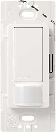 Lutron Maestro Sensor switch, 2A, No Neutral Required, Single-Pole, MS