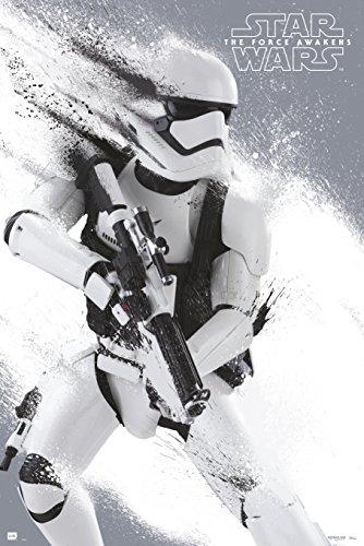 Grupo Erik GPE4893 Poster Star Wars Episodio Vii Stormtrooper, carta, Multicolore, 91 x 61,5 x 0,1 cm