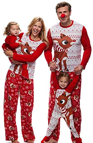 Kerstmis pyjama pyjama Kerstmis van de familie Kerstmis Kerstman Pajama Nachtw specifieke Kostümhaus pak nachtkleding Sweater Set M Dames Heren Kids meisje jongen baby, Gr ?? e ?: M, Kleur: # 05 Dad