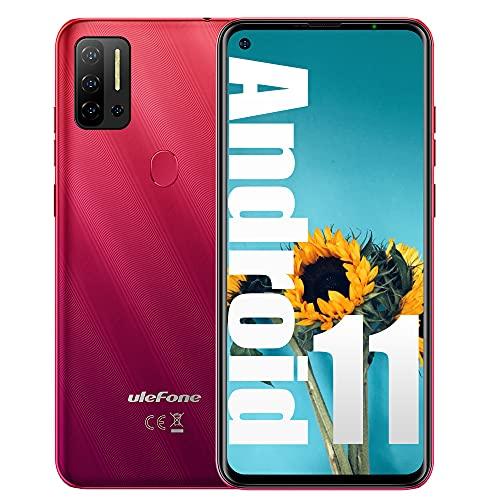 "Unlocked Phone New Ulefone Note 11P (2021) Android 11 P60 Octa-core 8GB+ 128GB Cell Phone, 48MP Four Rear Camera + 8MP Front Camera, 6.55"" HD+ Screen 4400mAh Battery Dual SIM 4G Unlocked Smartphone"