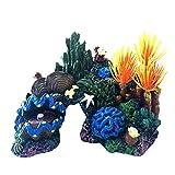 PetKids – Juego de 3 adornos para acuario, decoración de resina para acuario, juego de acuario, decoración para acuario, decoración de acuario, juego de acuarios, decoración de bob Esponja, 3 unidades