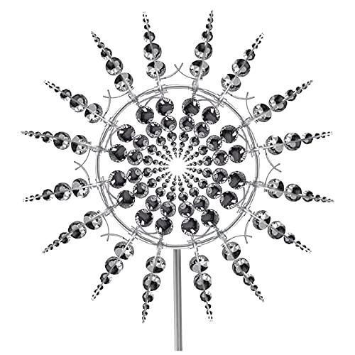 Liably Einzigartige und magische Outdoor Windmühle aus Metall Wind Catcher Yard Patio Markise Garden Decor