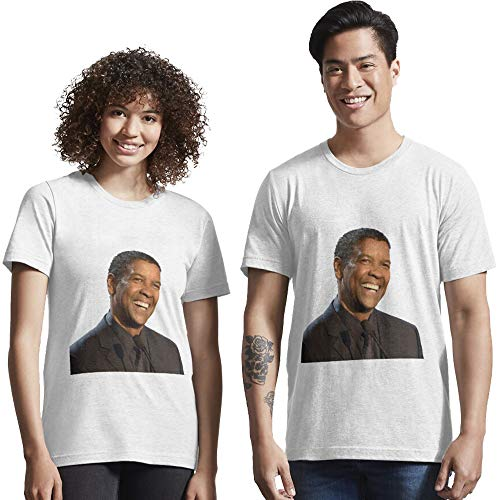 TYMUKAS Denzel Washington Smile T-Shirt