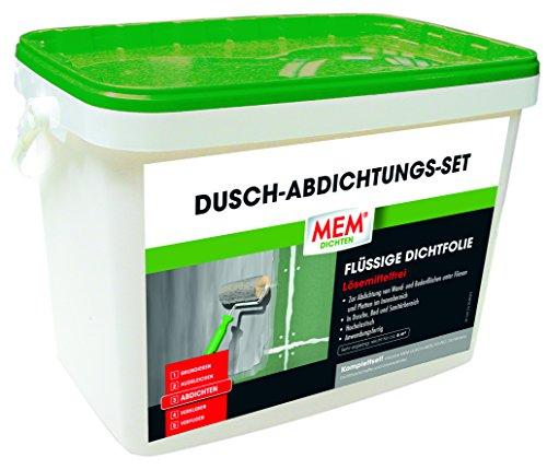 MEM Dusch-Abdichtungs-Set 9 kg (MEM Dusch Dicht System) - Zur Abdichtu