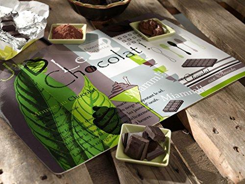 CALITEX Le Chocolat, PVC, 44x28 cm