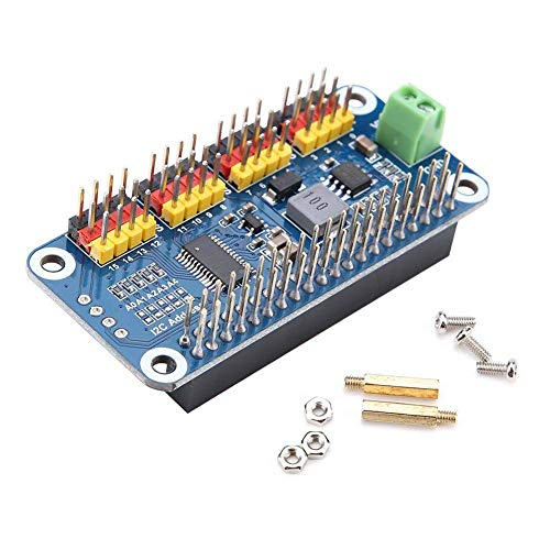 Nologo YO-TOKU Steering Actuator Board, Steering Actuator Driver Board 16-Channel 2-Bit Resolution For Raspberry Pi Modules CE