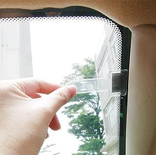 Hypersonic Transparent Car Auto Windshield Parking Ticket Holder Clip