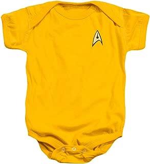 Star Trek Command Uniform Infant Snapsuit