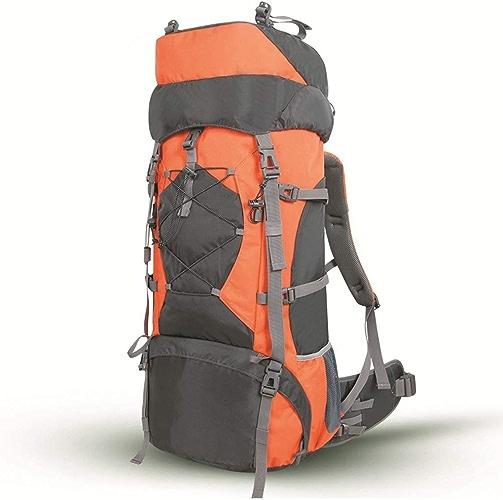 XINGZHE Sac d'alpinisme en Plein air de Grande capacité, Dos, Support détachable Sac de randonnée pour Camping Sac à Dos 70L De Plein air (Couleur   B)