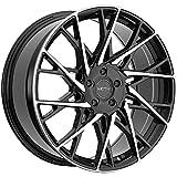 Motiv 430MB 20x8.5 5x108/5x112 +40mm Black/Machined Wheel Rim 20' Inch