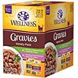 Wellness Complete Health Indulgence Grain Free Gravies Variety Pack Wet Cat Food, 3 oz., Count of 8
