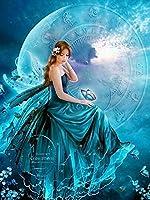 5DDIYダイヤモンドペインティングバタフライフェアリークロスステッチフルドリルスクエア刺繡ダイヤモンドモザイク画像ラインストーン家の装飾ZW69421