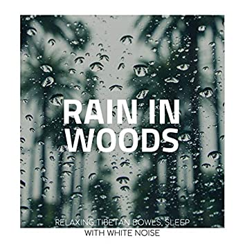 Rain in Woods: Relaxing Tibetan Bowls, Sleep with White Noise