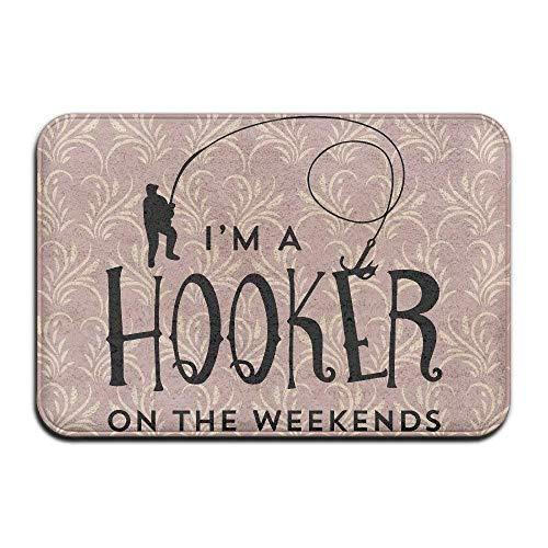 Klotr Tapis De Bain, I'm A Hooker on The Weekends Door Mats Outdoor Mats