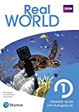 Real World 1 Student's Book Print & Digital Interactive Student's Book -MyEnglishLab Access Code