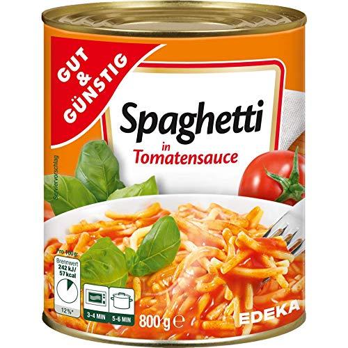 Spaghetti in Tomatensauce G&G im 3er Pack (3 x 800g)