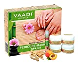 Vaadi Herbals Soothing And Refreshing Pedicure Manicure Spa Kit, 135g