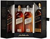 Johnnie Walker Collection Pack Blended Scotch Whisky, 4 x 200 ml