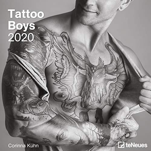 Tattoo Boys 2020 - Broschürenkalender - Wandkalender - Fotokalender - 30x30cm