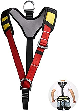 Body Safety Harness, External Rock Climbing Harness The Torso Harness Half Harness Safe Seat for Outdoor Work Climbing Tree