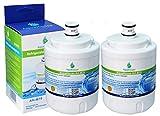2x AH-M70 Compatible pour Maytag UKF7003 Réfrigérateur Filtre à eau, Amana, Jenn-Air, Smeg FRSA, UKF7003AXX, Beko