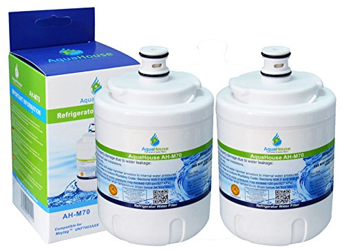 2x AH-M70 kompatibel für Maytag UKF7003 Kühlschrank Wasserfilter , Amana, Jenn-Air, Smeg FRSA, UKF7003AXX, Beko