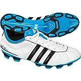 adidas adiNova IV TRX FG J,–Botas Fútbol Niño, Blanco (Blanc, Bleu et Noir), 38.5