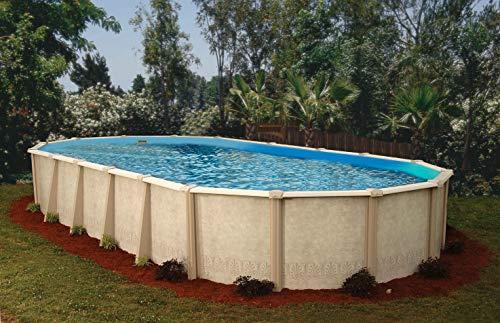 Interline 55000120 oval Pool Sunlake Komplett Set - 7
