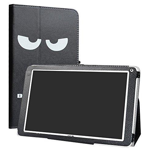 SPC Heaven Funda,LiuShan Folio Soporte PU Cuero con Funda Caso para 10.1' SPC Heaven Android Tablet,Don't Touch