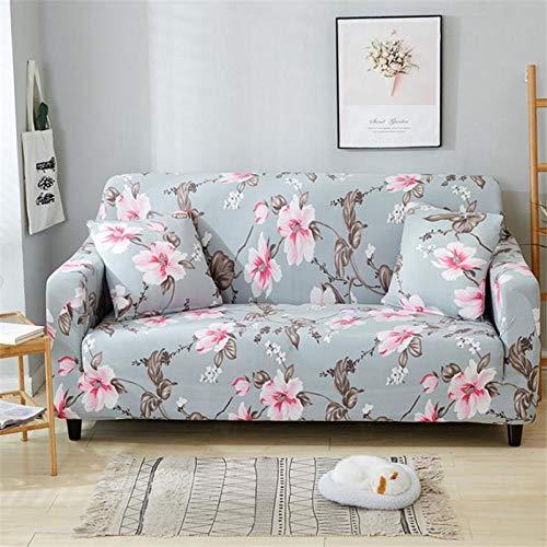 B/H Sillón Elastano Fundas de Sofá,Funda de sofá elástica con Protector de sofá Todo Incluido de Spandex para Sala de estar-10_90-140cm,Fundas de sofá de Esquina