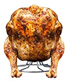 Stainless Steel Vertical Poultry Turkey Roasting/Smoking stand