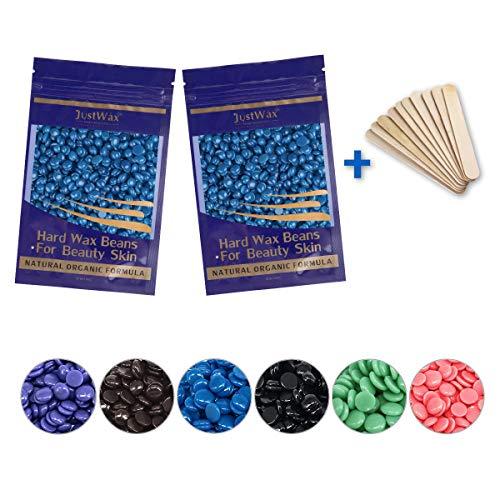 Wachsperlen -Wachsbohnen -Wachs Haarentfernung -Waxing Perlen -Wax Beans -Wachs Perlen -Hard Wachs Beans -Waxperlen -Wachs Pearl -Wachskugeln -Niedrigtemperatur ohne Vliesstreife 200g (Kamille)