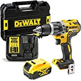 Dewalt DCD796P1 18v XR Brushless Combi Drill with 1 x 5Ah Battery, Charger