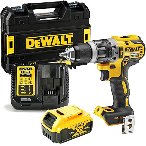 Dewalt DCD796P1 18v XR Brushless Combi Drill with 1 x 5Ah Battery, Charger & Case