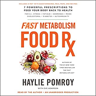 Fast Metabolism Food Rx audiobook cover art