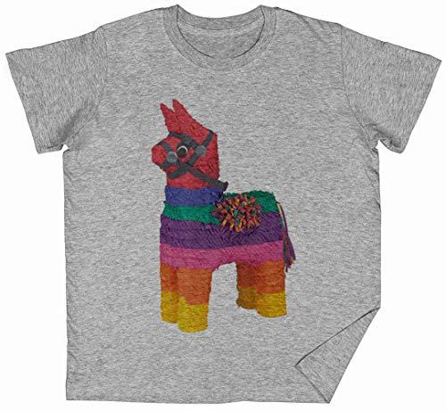 Gerald Grau Kinder Jungen Mädchen T-Shirt Unisex Größe L Grey Kid's Boys Girls Tee Size M