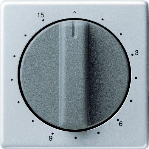 Gira 0640203 Abdeckung Zeitschalter 15 Min. Gira E22 Aluminium