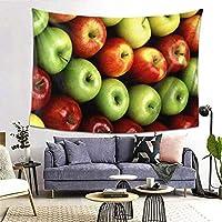 リンゴ タペストリー 壁掛け布 ポスタータペストリー ファブリック おしゃれ 室内装飾 部屋 お店 多機能 80x60inch/200x150cm