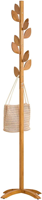 ZPWSNH Solid Wood Hanger Simple Hanger Bedroom Clothes Hanging Fashion Hanger Coat Rack, Two Styles 175 X 45cm Coat Rack (Style   B)