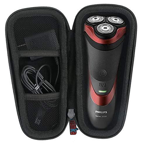 Khanka Hart Reise Tasche für Philips Series 3000 5000 6000 7000 Elektrischer Trocken PowerTouch PT860 Nassrasierer S6640/44 S3233/52 S5290/12 S9711/31 S3010/06.
